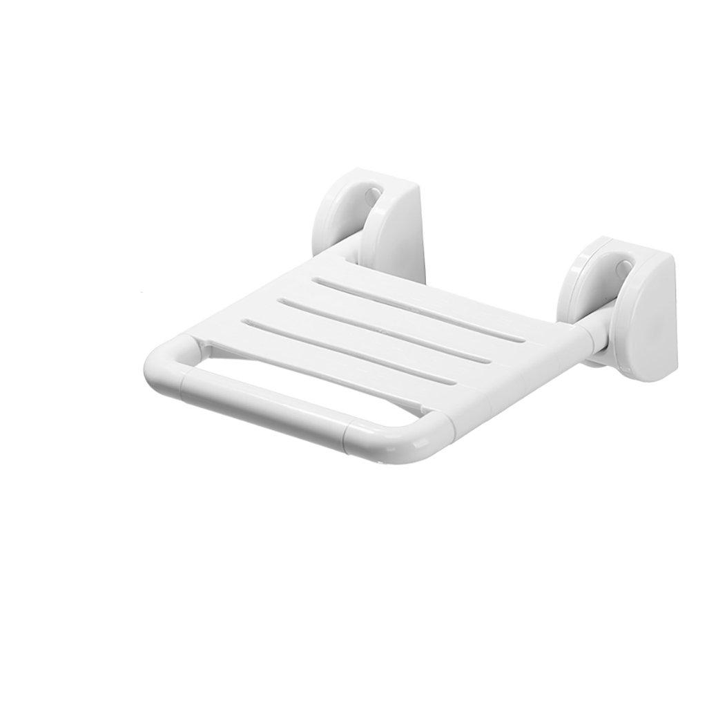 XUEPING バスルームバススツール折りたたみシャワー壁スツールウォールスツール障害シートスツール交換バスルームバスルームスツールイエロー/ホワイト (色 : B, サイズ さいず : (2)) B07D7M1FFG (2) B B 2