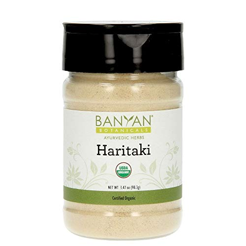 Certified Organic Spice (Banyan Botanicals Haritaki Powder - Certified Organic, Spice Jar - Terminalia chebula - Detoxification & Rejuvenation*)