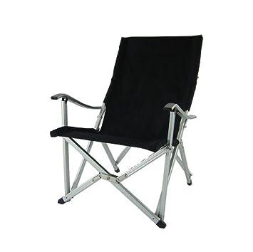 Silla de aluminio plegable de lujo de color negro #silla de ...