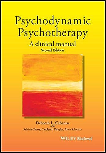 psychodynamic psychotherapy a clinical manual 9781119141983