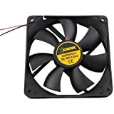 Xscorpion FAN61 12-Volt 6-Inch Square Rotary Cooling Fan