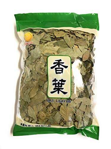Bay Leaves Dried, Whole, 1 Pound (454g) Bulk Bag By TLA by TLA Source Deals