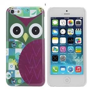 Fashion Cute Owl Design Hard Back Case Cover Skin For iPhone 5C @ Design==2