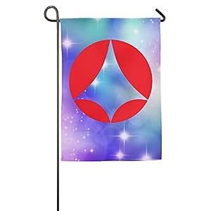 Personalizado decorativo Welcome poliéster casa banderas impreso Robotech Spacy Pop Art products de la ONU bandera para interior/al aire libre con dos tamaño–1218o 1827inch