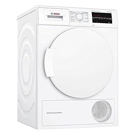 Bosch Serie 6 WTG87229ES - Secadora (Independiente, Carga frontal, Bomba de calor, Blanco, Giratorio, Tocar, Derecho)