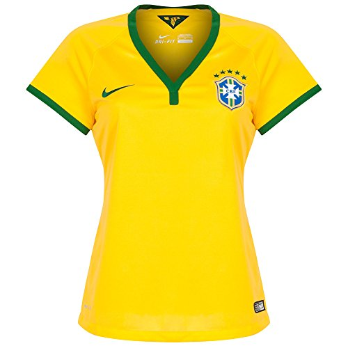 2014-15 Brazil Home World Cup Womens Shirt