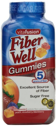 Vitafusion Fiber Gummies, New Value Size Packageage 440-Sugar Free Gummies