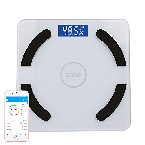 体重計 体脂肪計 体組成計 スマホ 高精度体重計 Bluetooth対応APP ヘルスメーター 体重/体脂肪率BMIなど測定可能