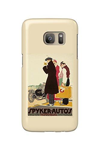 spyker-autos-vintage-poster-artist-van-der-hem-pieter-holland-c-1914-galaxy-s7-cell-phone-case-slim-