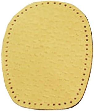 FabaCare Corbby Heel Step Premium Schuheinlagen Leder orthopädisch Ferse, Fersenkissen zur Korrektur bei Knickfuss, Fersenkeil, Einlage für bequemes Gehen und Laufen, 1 Paar