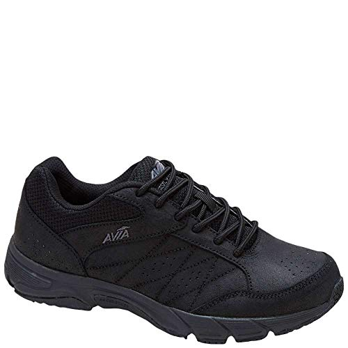 Avia Women's Avi-Care Field Hockey Shoe, Black/Iron Grey, 7 M US