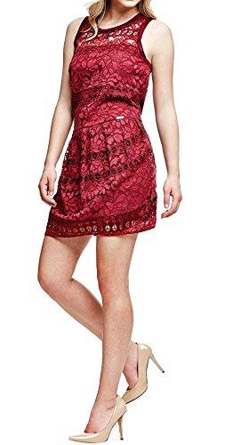 GUESS - Vestido - para Mujer Rojo XS