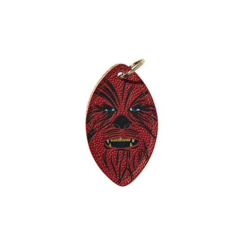 (Wilson Sporting Goods Chewbacca Star Wars Official Leather Keychain,)