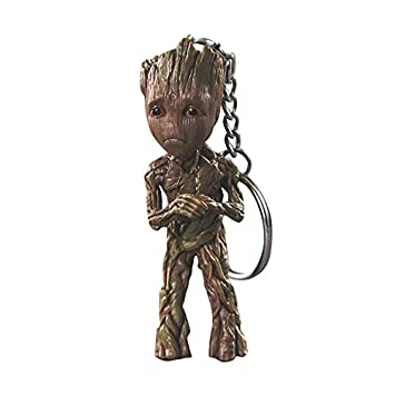 thematys® Baby Groot Llavero - Figura de acción de la película clásica - Perfecto como Regalo - I Am Groot (inseguro)