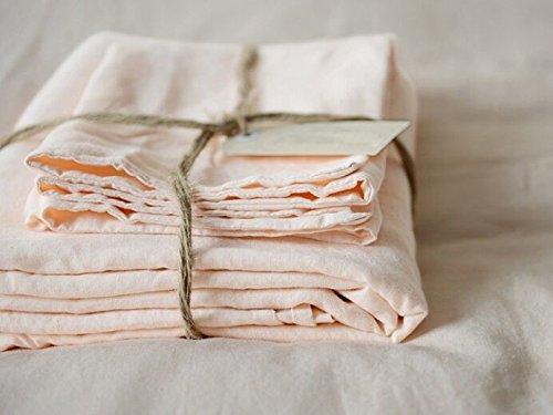 Lausonhouse Luxurious 100% Pure French Linen Sheet Set - - Pure Linen