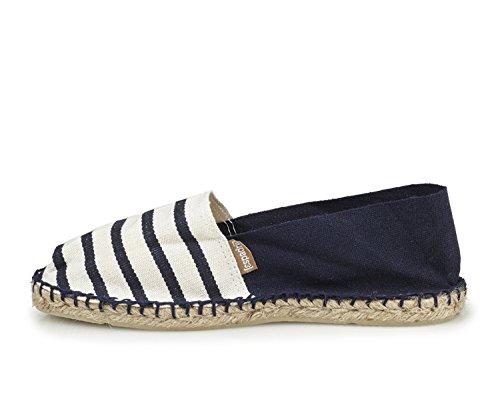 marine Classic Espadrij Ecru L'originale 100 Basses Chaussures marine Mixte Adulte wvU8xvq