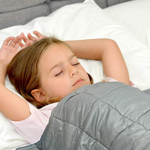 Cheap Waowoo Weighted Blanket for Kids (4lbs 36