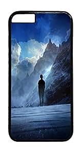 Vivid Imagination PC Case Cover for iphone 6 Plus 5.5inch - Black