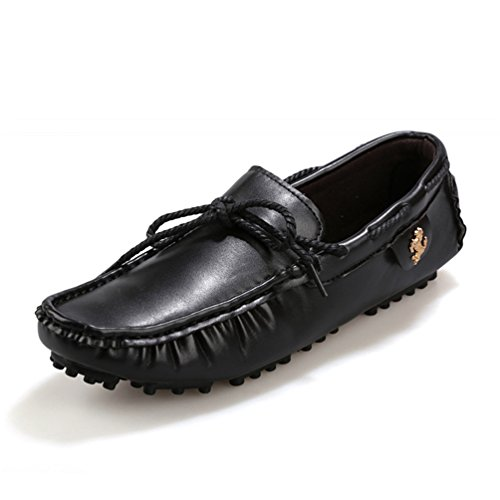 De ConduccióN Plano SóLido Ocio Zapato Slip MocasíN Negro Zapatos CóModo On Hombres Zapatos Mocasines De Casuales 6nASxaU