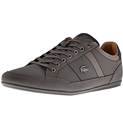 a83e452fa Lacoste Footwear Chaymon 118 Dark Grey Trainers  Amazon.co.uk  Shoes   Bags