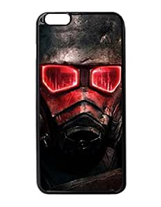 "Fallout New Vegas - Custom Image Case iphone 6 -5.5 inches case , Diy Durable Hard Case Cover for iPhone 6 Plus (5.5"") , High Quality Plastic Case By Argelis-Sky, Black Case New"