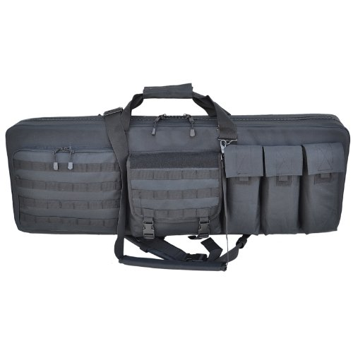 Explorer 3 Rifles Weapon Case, Black, 46 x 13.50-Inch