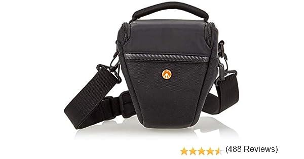 Manfrotto Advanced Holster - Funda para cámara DSLR, Negro: Amazon ...