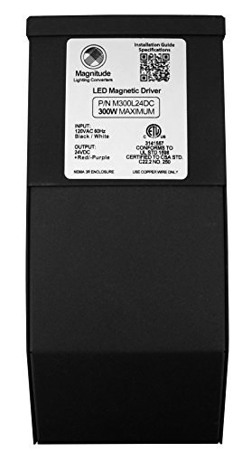 24V 300W Magnitude Magnetic Transformer M300L24DC by Magnitude
