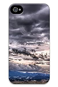 Cute becautiful Scene Design Protective Back Case Cover for iPhone 4 4s