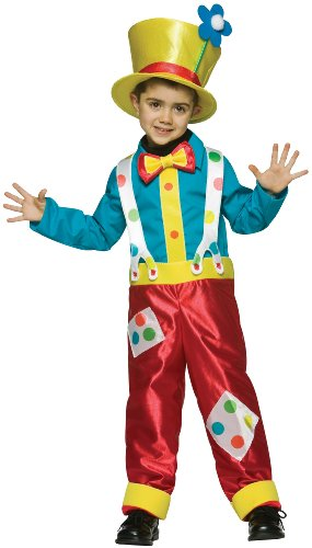 [Clown Boy Costume - Small] (Boy Clown Costumes)