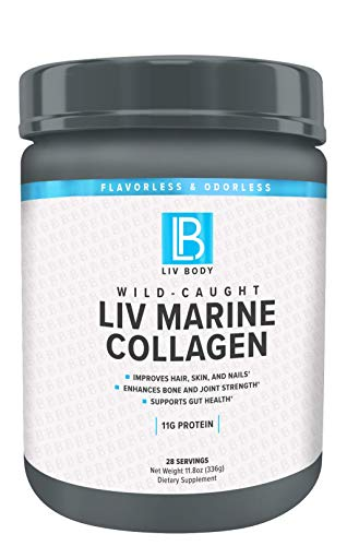 LIV Body   LIV Marine Collagen   11g of Protein   Improves Hair, Skin and Nails & Enhances Bone and Joint Strength