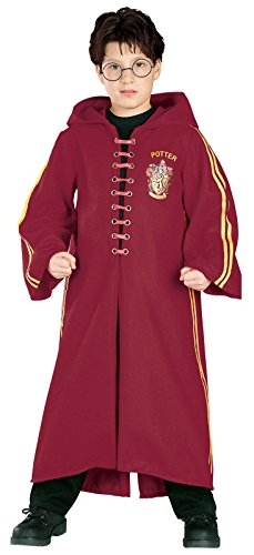 [Harry Potter Deluxe Quidditch Robe, Large (Ages 8 to 10)] (Harry Potter Costumes Robe)