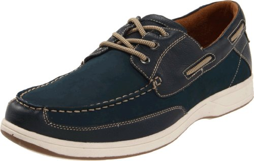 Florsheim Mens Lakeside Boat Shoe Navy