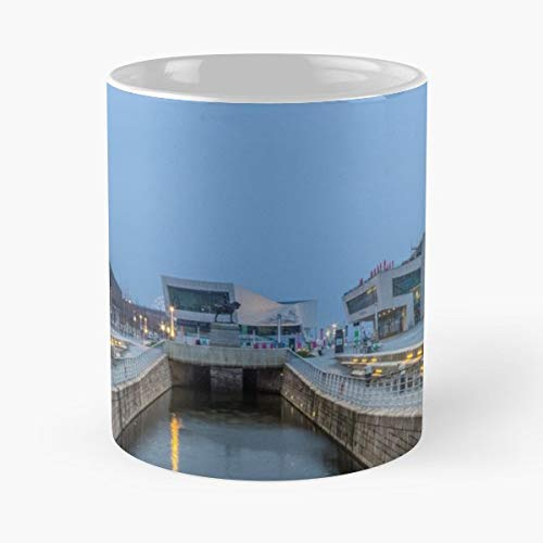 - Pier Head Cunard Building Port Of Liverpool Museum - White -coffee Mug- Unique Birthday Gift-the Best Gift For Holidays- 11 Oz.