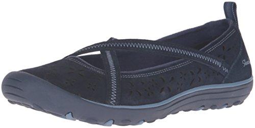 Skechers Mujeres De La Tierra Fest–sostenibilidad zapato diario azul marino