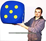 Masters Traditional Games Giant Foam Dice - 50cm - Blue