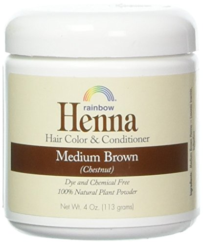 Rainbow Research Henna Hair Color and Conditioner, Persian Brown Chestnut, 4 Ounce ()