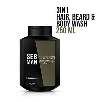 SEB MAN The Multi-Tasker Hair Beard and Body Wash, 250ml