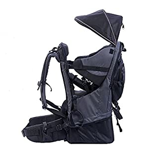 Child Carrier, XTELARY Baby Toddler Hiking Backpack Carrier with Rain cover Child Kid Sun canopy Shield, Holds up to 50… 5