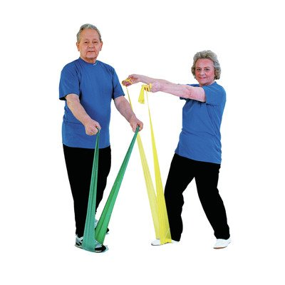 Exercise Band (Dispener Box of 30) Size / Color: X-Light / Yellow