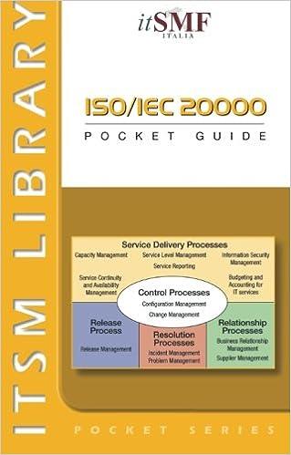 Iso 20000 pocket guide: van haren jane chittenden: free.