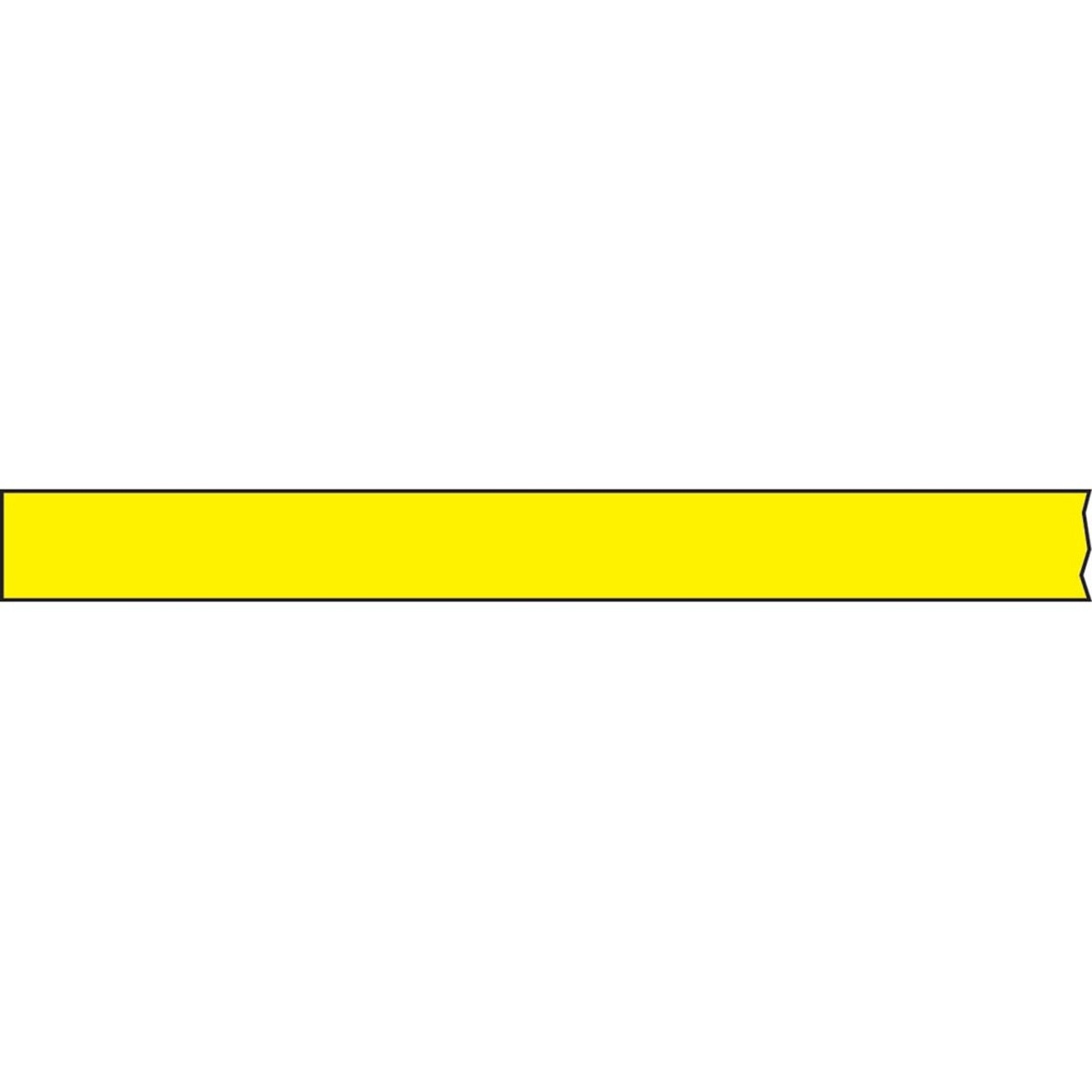 TIMETAPE T-1260-2 Tape, Removable, 3'' Core, 1/2'' x 2160'', Imprints Yellow (Pack of 1)