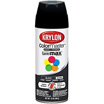 Amazoncom Krylon 51601 Gloss Black Interior and Exterior