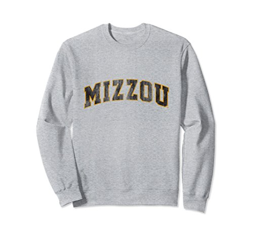 Unisex Missouri Tigers Mizzou Tigers NCAA Women's Sweatshirt C05BB0 Large Heather Grey Tiger Athletic Sweatshirt