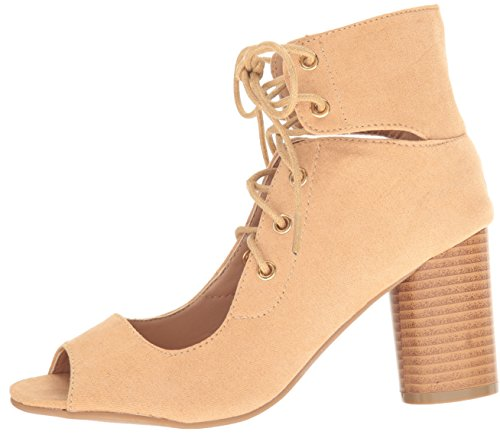03 Women's Cylinder Bootie Toffee Qupid Ankle qF8EwSnEd