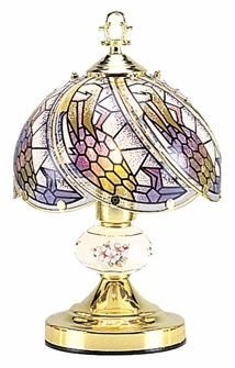OK LIGHITNG OK-606-4G-SP3 14.25 in. Mermaid Touch Lamp