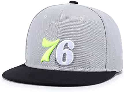 dc3ed40282b Quanhaigou Galaxy 3D Printed Adjustable Baseball Cap,Unisex Hip Hop Snapback  Flatbrim Hats