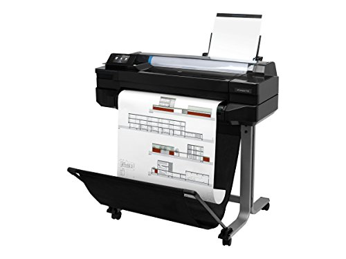 (HP CQ890C DesignJet T520 - 24 inch large-format printer - color - ink-jet - Roll (24 in x 150 ft) - 2400 x 1200 dpi - up to 0.6 min/page (mono) / up t)