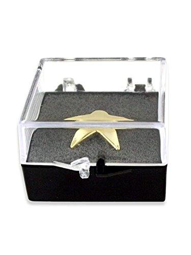 PinMart's Clear Plastic Pin Gift Box with Foam - 10 Pack