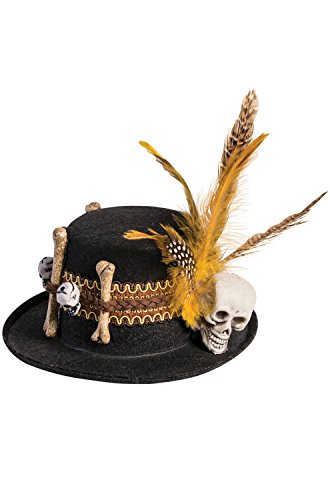 Forum Novelties Voodoo Mini Hat Clip Costume (Voodoo Hat)